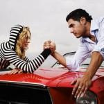 Типы мужского и женского вождения